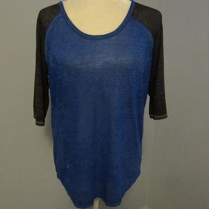 Arizona Soft Sheer Cotton Shirt ~ Size Large